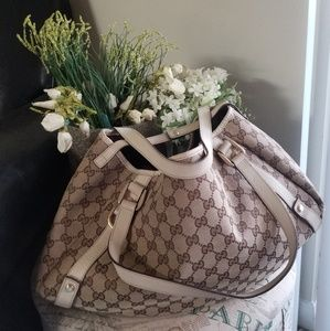 Authentic Gucci Canvas Bag